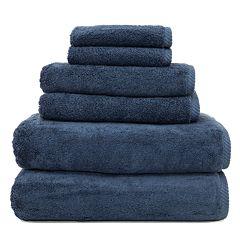 Linum Home Textiles Soft Twist 6 pc Bath Towel Set