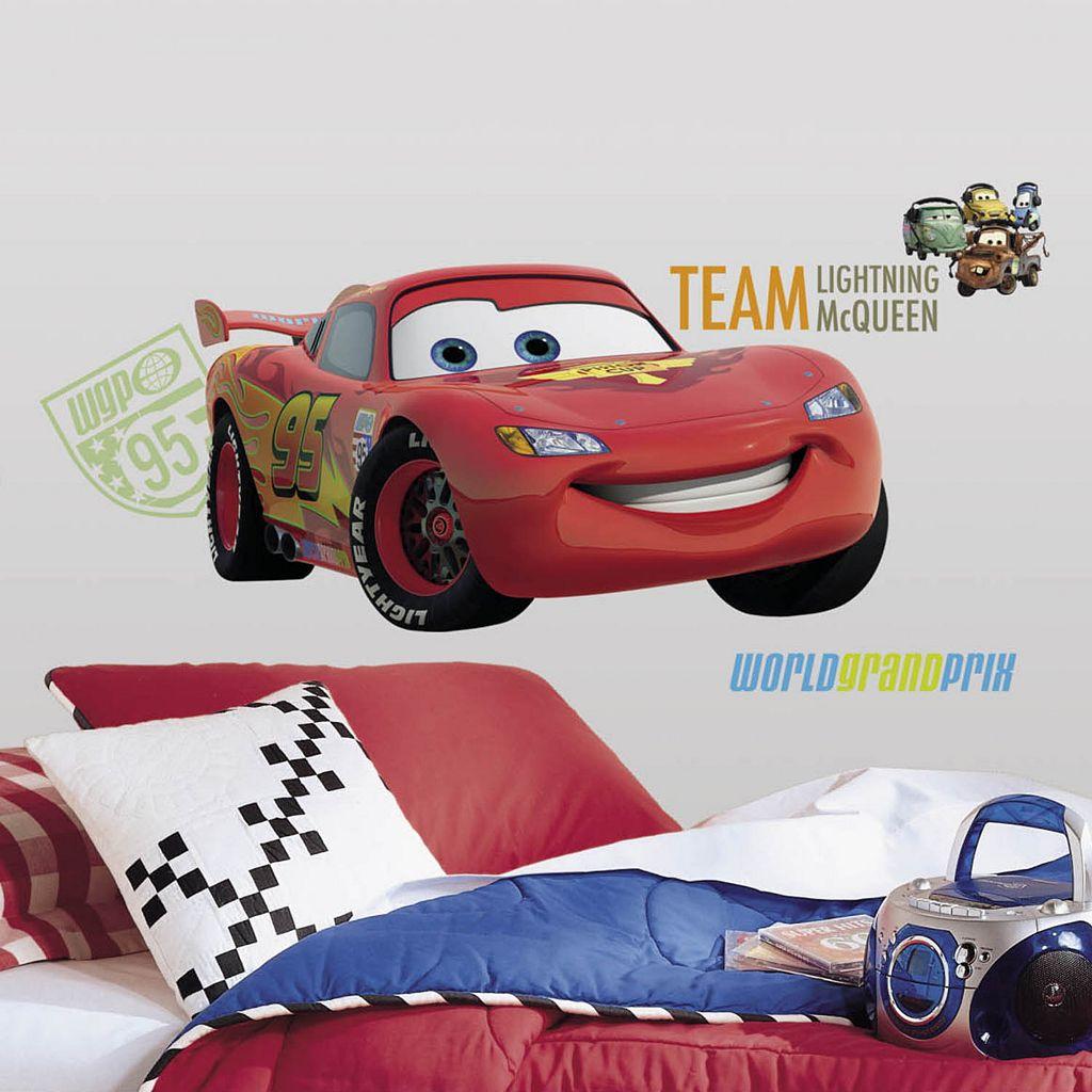 Disney Cars Lightning McQueen Peel & Stick Wall Decal