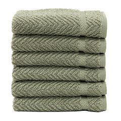Linum Home Textiles Herringbone 6-pk. Washcloths