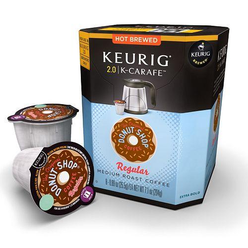 Keurig® K-Carafe™ Pod The Original Donut Shop Medium Roast Coffee - 8-pk.