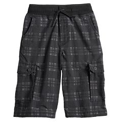 Boys 8-20 Urban Pipeline™ Plaid Cargo Shorts