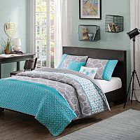 Intelligent Design Zara Reversible Quilt Set