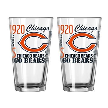 Boelter Chicago Bears Spirit Pint Glass Set