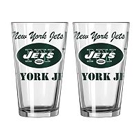 Boelter New York Jets Spirit Pint Glass Set