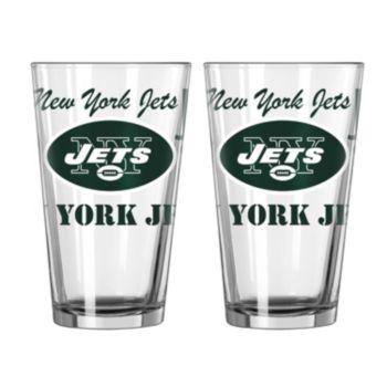 Boelter New York Jets Spirit Pint Glass Set