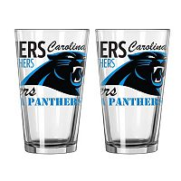 Boelter Carolina Panthers Spirit Pint Glass Set