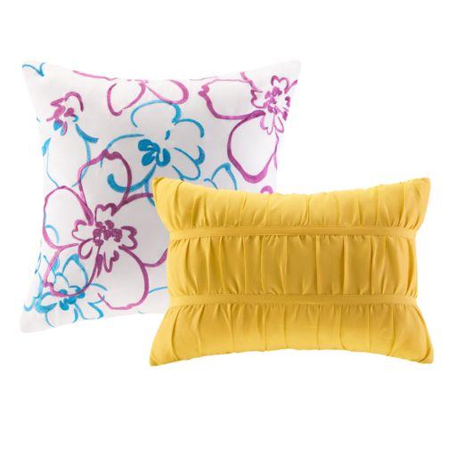Intelligent Design Ashley Reversible Quilt Set