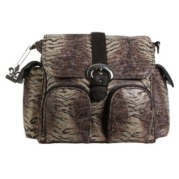Kalencom Tiger Stripe Double Duty Diaper Bag