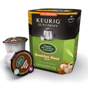 Keurig® K-Carafe? Pod Green Mountain Coffee Breakfast Blend Decaf Coffee - 8-pk.