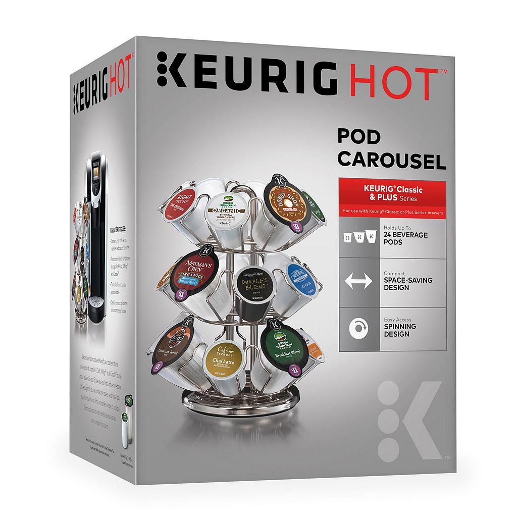 24 Keurig® 2.0 Pod Carousel