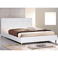 Baxton Studio Barbara Bed - Queen