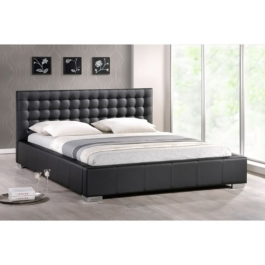 Baxton Studio Madison Bed - Queen