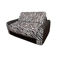 Fun Furnishings Animal Print Sleeper Sofa - KIds