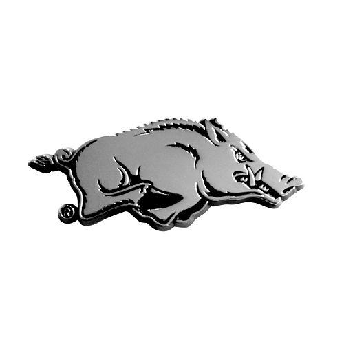 Arkansas Razorbacks Auto Emblem