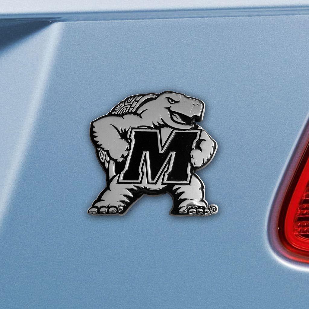Maryland Terrapins Auto Emblem