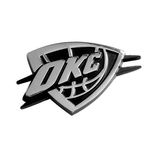Oklahoma City Thunder Auto Emblem