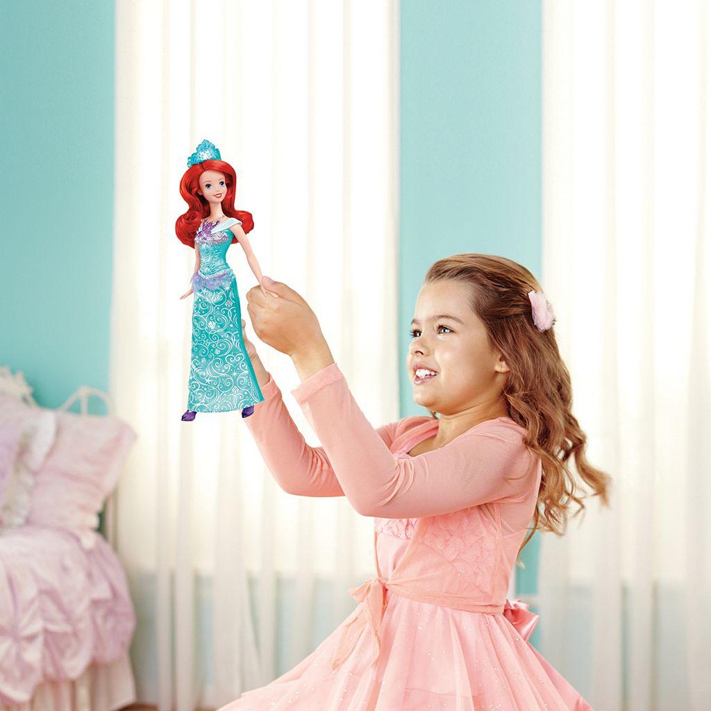 Disney Glitter Lights Ariel Doll