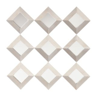 Southern Enterprises Wrinn Mirrored Wall Decor