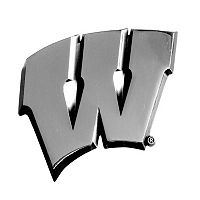 Wisconsin Badgers Auto Emblem