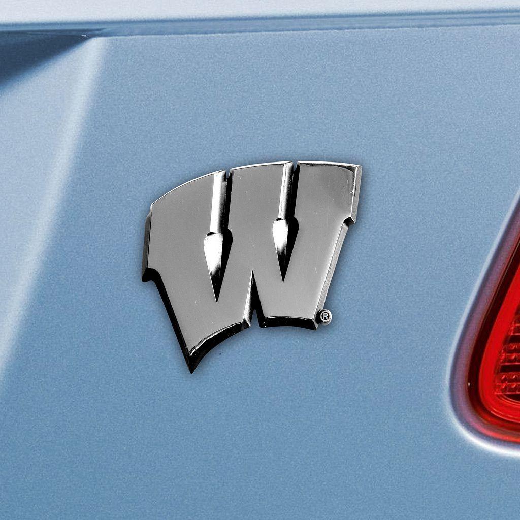 Wisconsin Badgers Auto Emblem