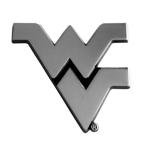 West Virginia Mountaineers Auto Emblem