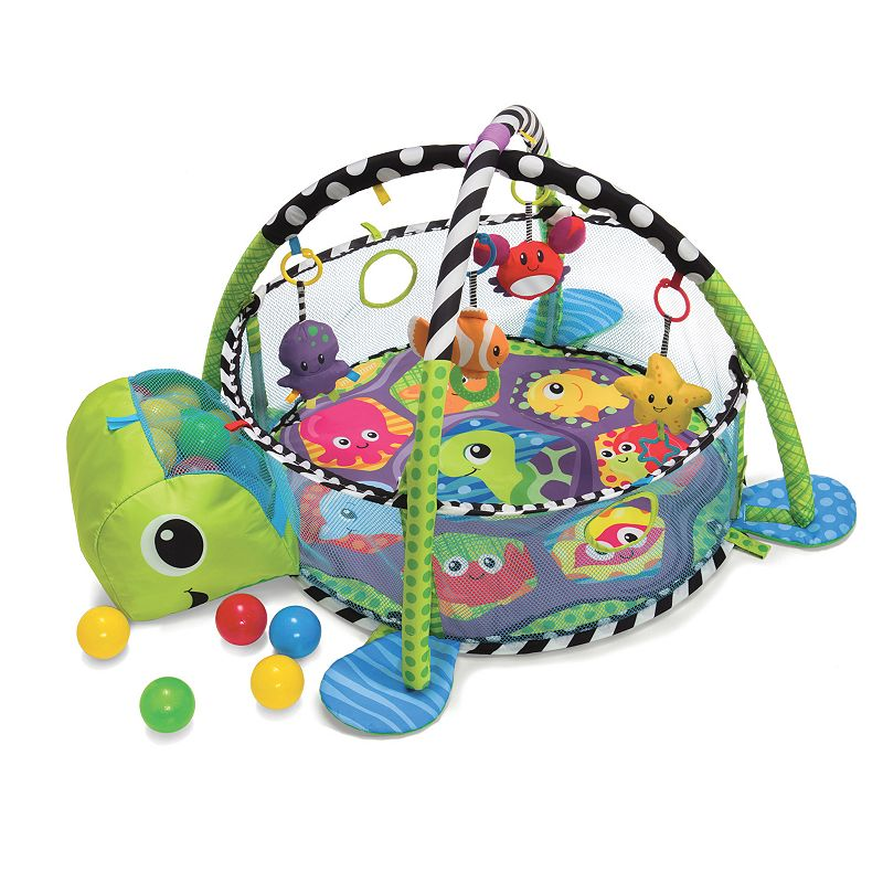 Infantino Grow With Me Ball Pit and Activity Gym, Multicolor