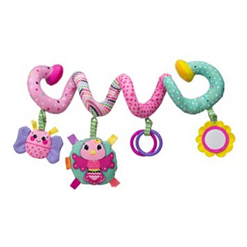 Infantino Bird & Friends Spiral Activity Toy