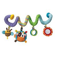 Infantino Pig & Friends Spiral Activity Toy