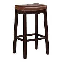Linon Claridge Patches Bar Stool