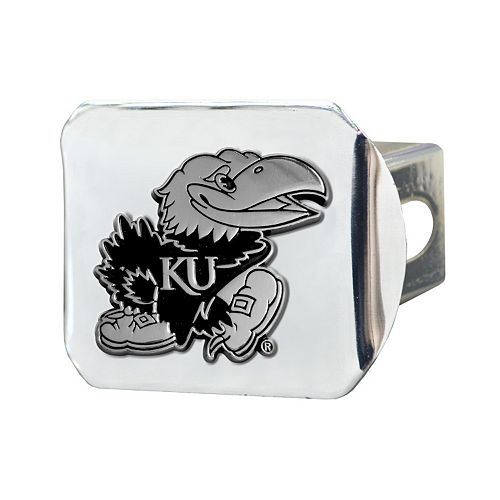 Kansas Jayhawks Trailer Hitch Cover