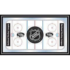 NHL Framed Hockey Rink Wall Art