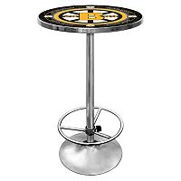 Boston Bruins Chrome Pub Table