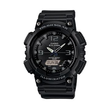 Casio Men's Tough Solar Illuminator Analog & Digital Watch - AQS810W-1A2VCFK