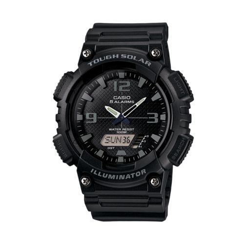 Casio Watch - Men's Tough Solar Illuminator Analog & Digital