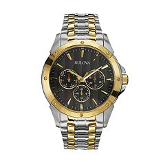 Bulova Men's Two Tone Stainless Steel Watch - 98C120
