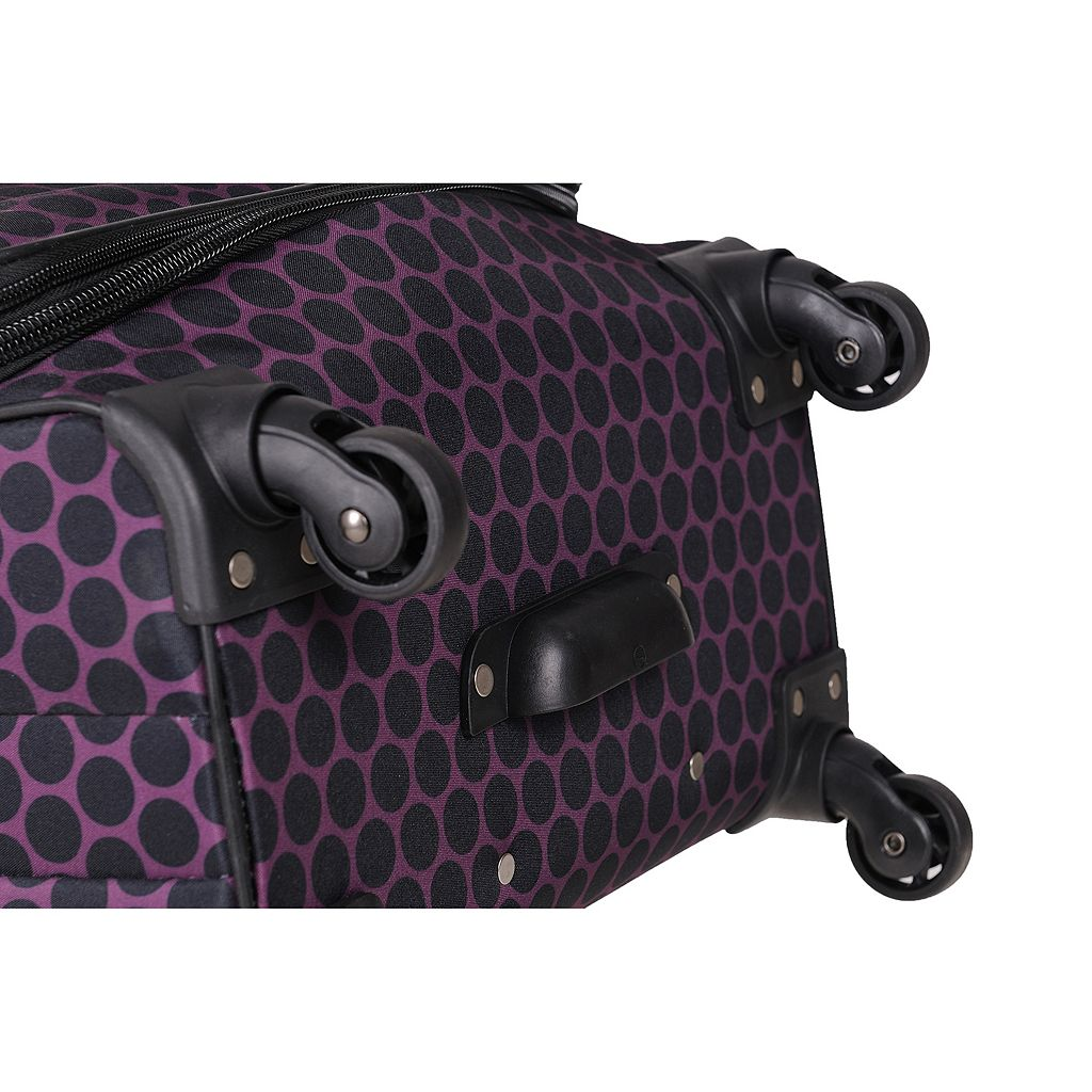 American Flyer Favo 5-Piece Spinner Luggage Set