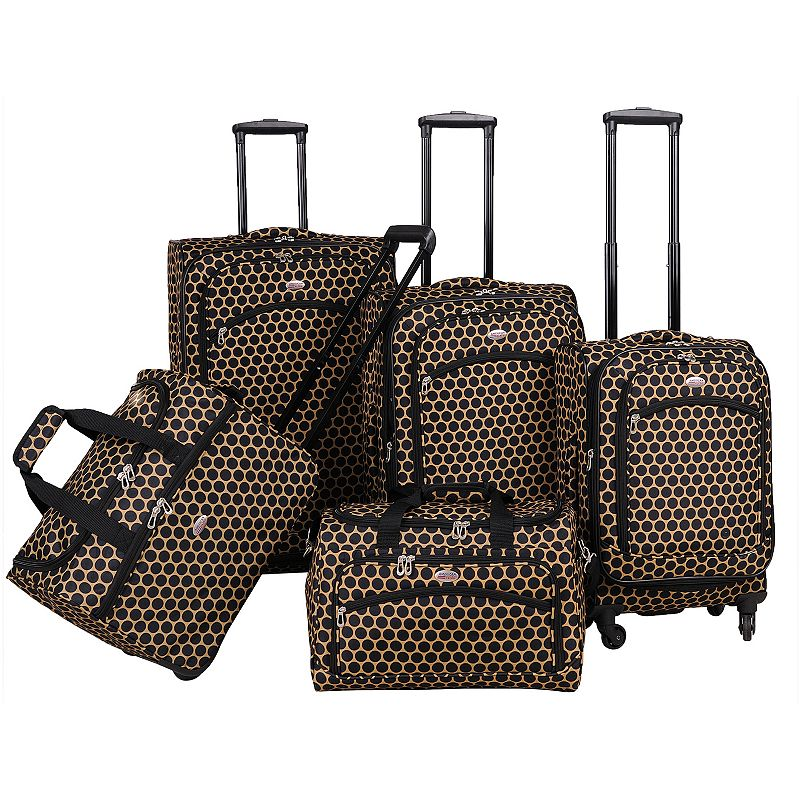 American Flyer Luggage, Favo 5-piece Expandable Spinner Luggage Set