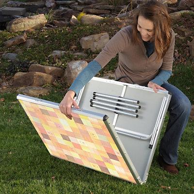 Coleman Adjustable Folding Table