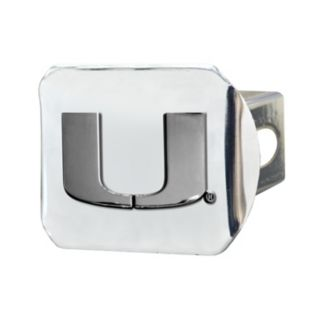 Miami Hurricanes Trailer Hitch Cover