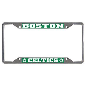 Boston Celtics License Plate Frame