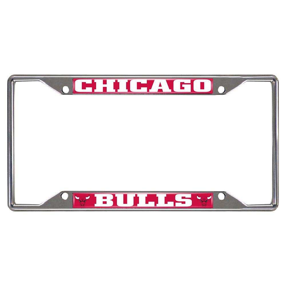 Chicago Bulls License Plate Frame