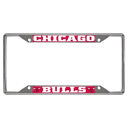 Chicago Bulls License Plate Frame
