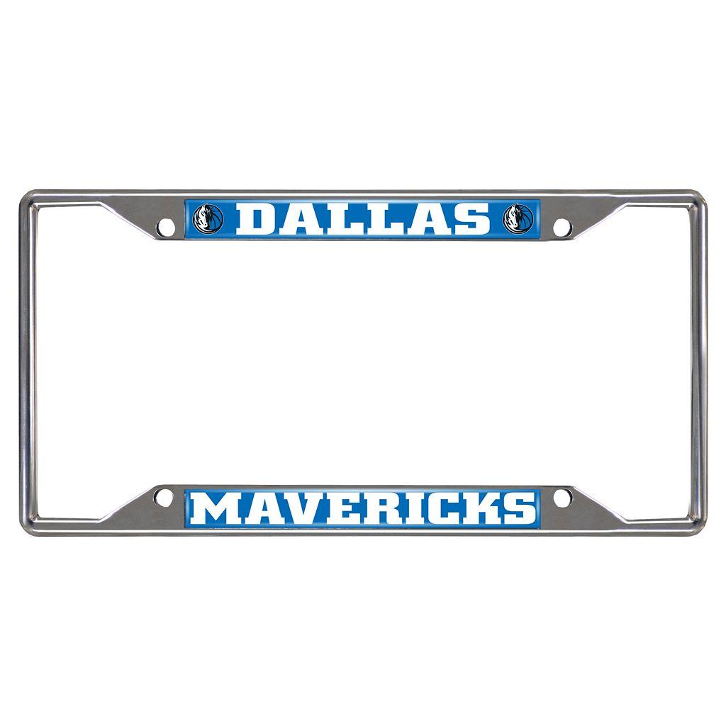 Dallas Mavericks License Plate Frame