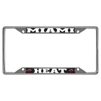 Miami Heat License Plate Frame