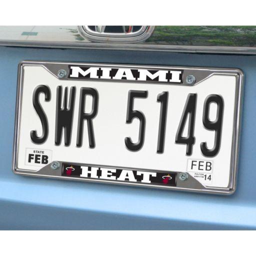 Miami Heat License Plate Frame