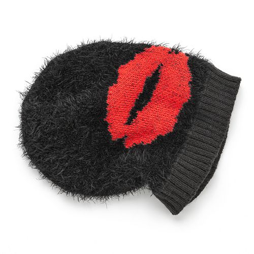 Juicy Couture Juicy Lips Slouch Beanie - Women