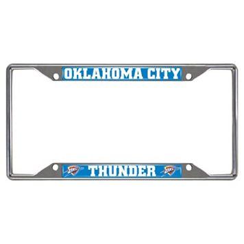 Oklahoma City Thunder License Plate Frame