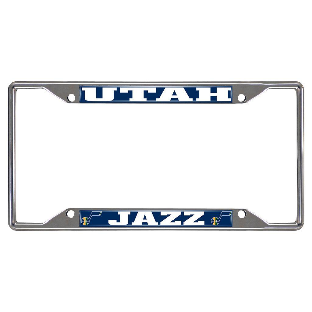 Utah Jazz License Plate Frame