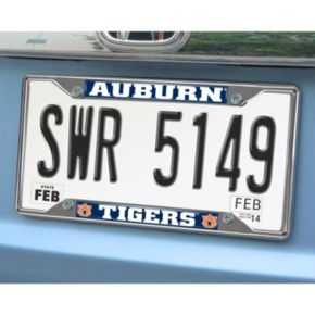 Auburn Tigers License Plate Frame