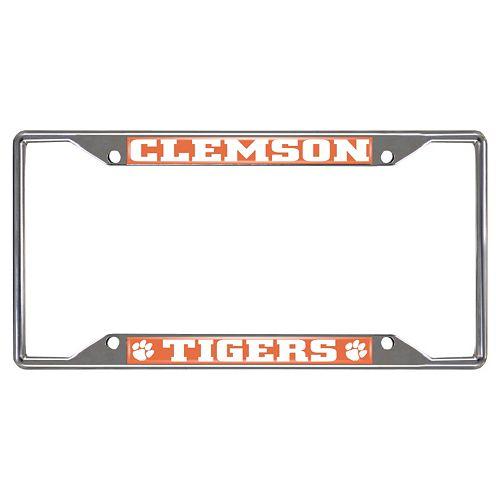 Clemson Tigers License Plate Frame